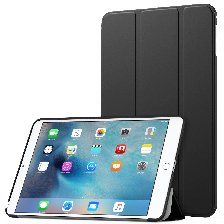 MoKo iPad Mini 4 Case - Slim Lightweight Smart Shell Stand Cover Case with Auto Wake/Sleep for Apple iPad Mini 4 (2015 Edition) 7.9 inch iOS Tablet, Black