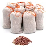 Wahdawn Cedar Chips Sachets for Closets Drawers - 10 Pack