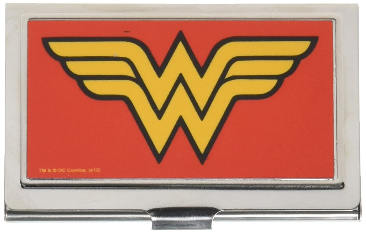 Buckle-Down Metal Wallet - Wonder Woman Logo Fcg Red Accessory Buckle-Down Pet Products BCH-SM-WWA