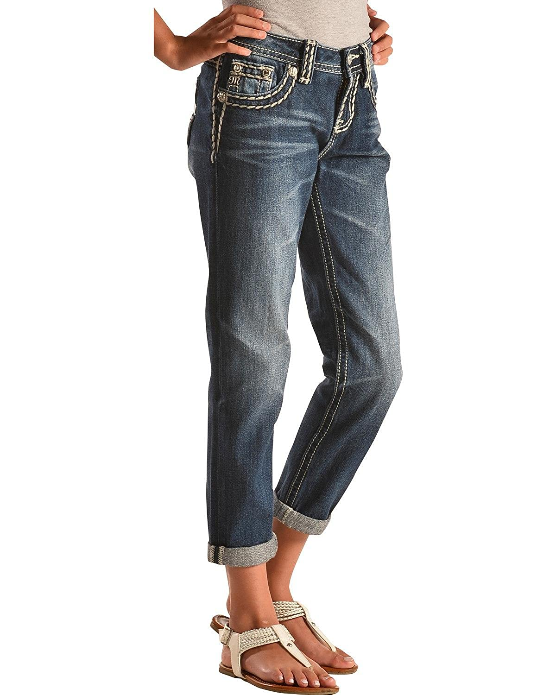 Miss Me Girls Revolt Boyfriend Ankle Jeans