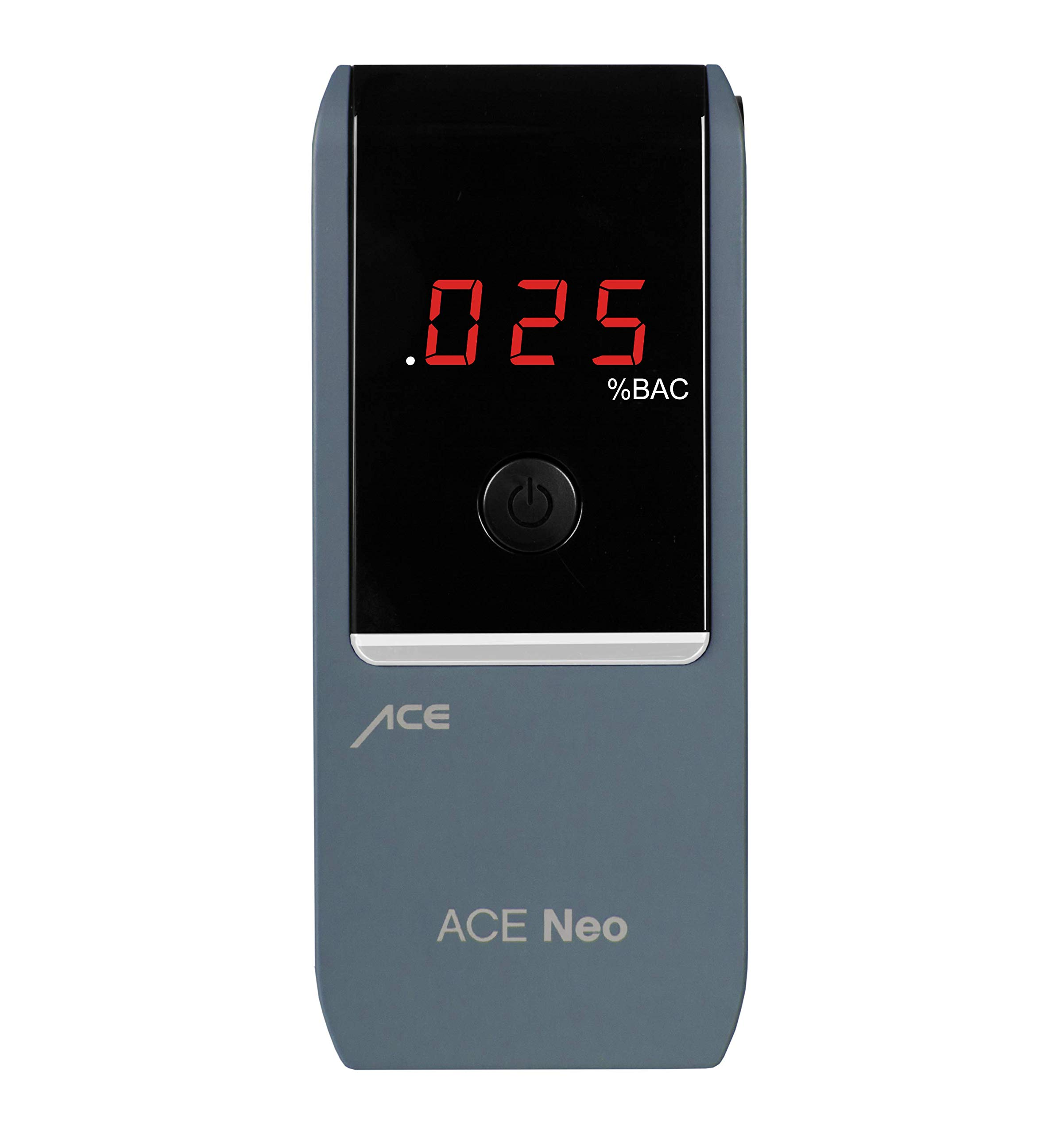 ACE Neo Breathalyzer with Police Grade Accurate Portable Fuel Cell Sensor and .005% Accuracy, Blue by ACE Instruments (Image #3)