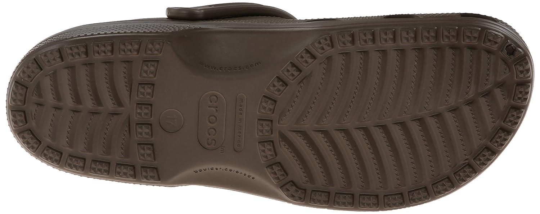 1d6cede3d crocs Men s Classic Chocolate Croslite Clogs and Mules - M14  Crocs   Amazon.in  Shoes   Handbags