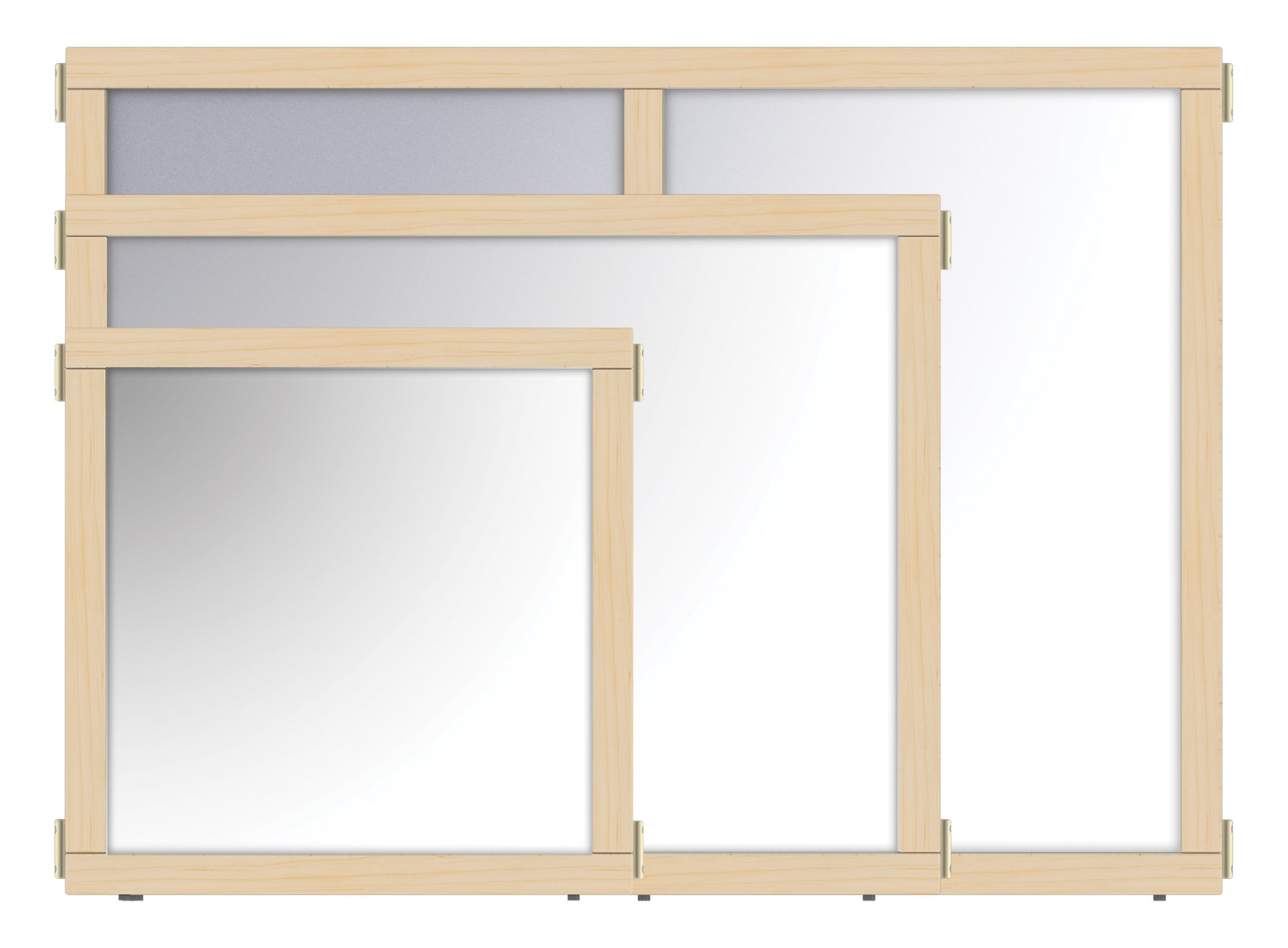 KYDZ Suite 1512JCEMR Panel, Mirror, E-Height, 36'' Wide