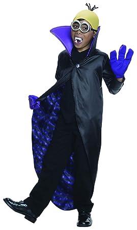 Generique - Disfraz Minion Vampiro niño: Amazon.es: Juguetes y juegos