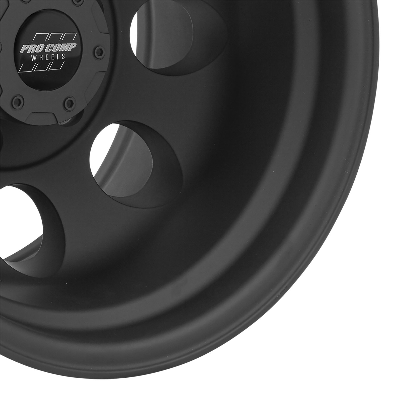 Pro Comp Alloys Series 69 Wheel with Flat Black Finish (15x8''/6x5.5-19mm)