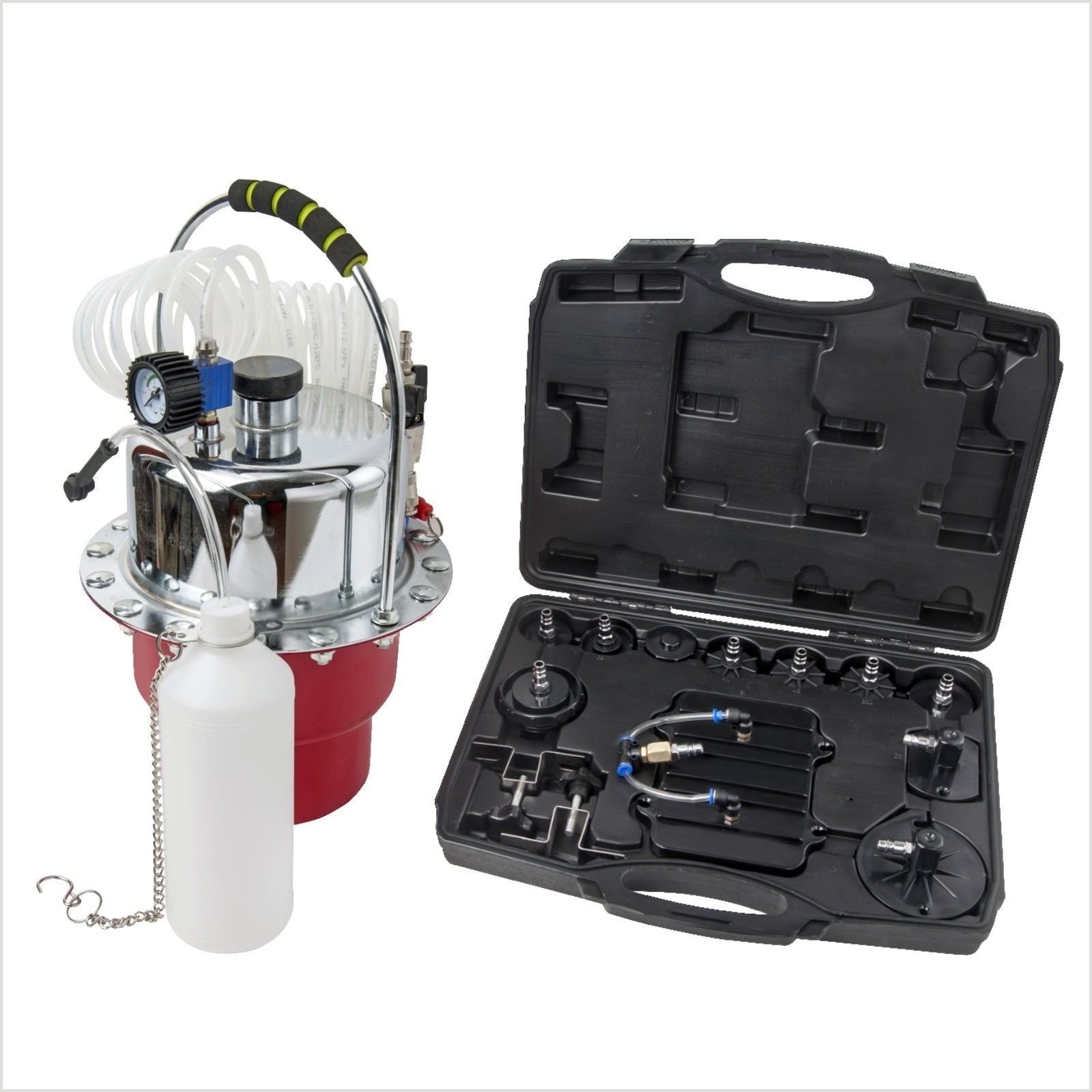 M2 Outlet Portable Pneumatic Air Pressure Brake and Clutch Bleeder Valve System Kit by M2 OUTLET (Image #1)
