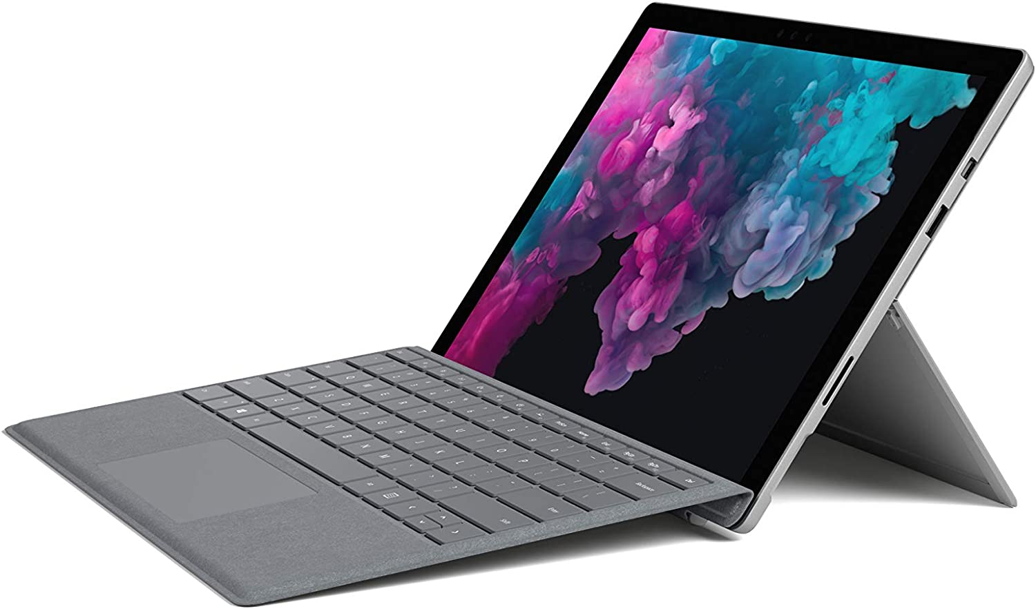 Microsoft Surface Pro 6 (Intel Core i5, 128GB SSD, 8GB RAM) + Type Cover Bundle (Platinum)