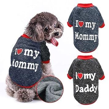Amazon.com: Stock Show ropa de perro para mascotas otoño ...
