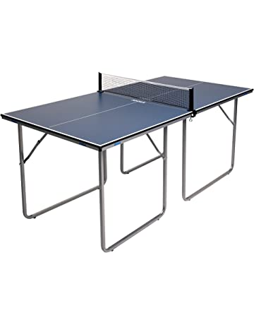 0d9fc7f66 JOOLA Midsize Compact Table Tennis Table Great for Small Spaces and  Apartments – Multi-Use