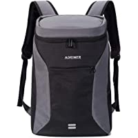 ADRIMER Backpack Coolers Insulated Leakproof Lunch Cooler Backpack Insulated Lightweight for Men Women to Picnic, Park, Hiking, Camping, Day Trip, 30 Cans