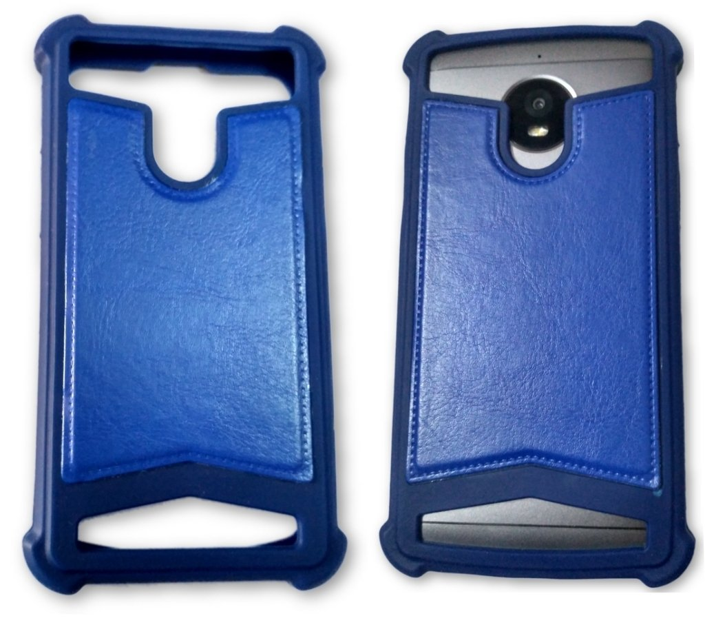 buy popular fa742 96211 BKDT Marketing Rubber and Leather Soft Back Cover for: Amazon.in ...