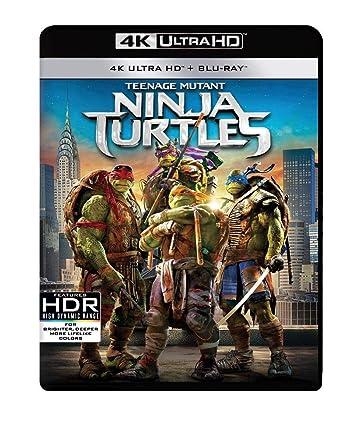 Teenage Mutant Ninja Turtles 2014 4K 2 Blu-ray Edizione ...