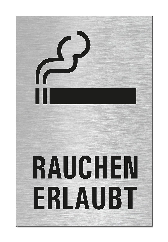 Puerta Cartel | Cartel | Permite Fumar | Aluminio Acero ...