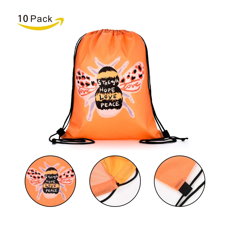 3a34f49b65f7 Amazon.com: LIHI BAG 10 Pack Kids Nylon Party Supplies Favors Gift ...