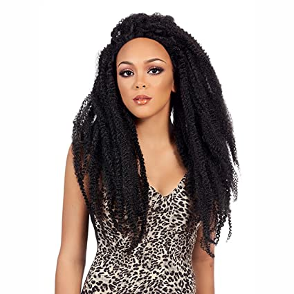 It s a Wig elegante peluca – Lace frontal jamai Can Locks Braided Lace Wig