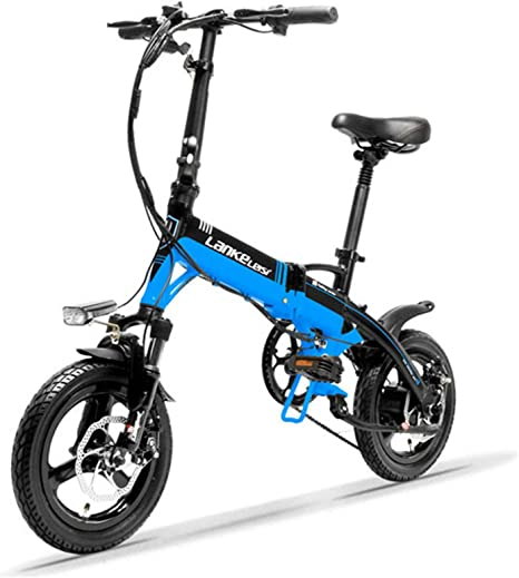 "12/"" Folding Electric Bike Bicycle 400W E-Bike 36v Battery Folding Li-ion 35km//h"