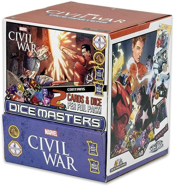 Marvel Dice Masters Civil War - Gravity Feed (90): Amazon.es: Juguetes y juegos