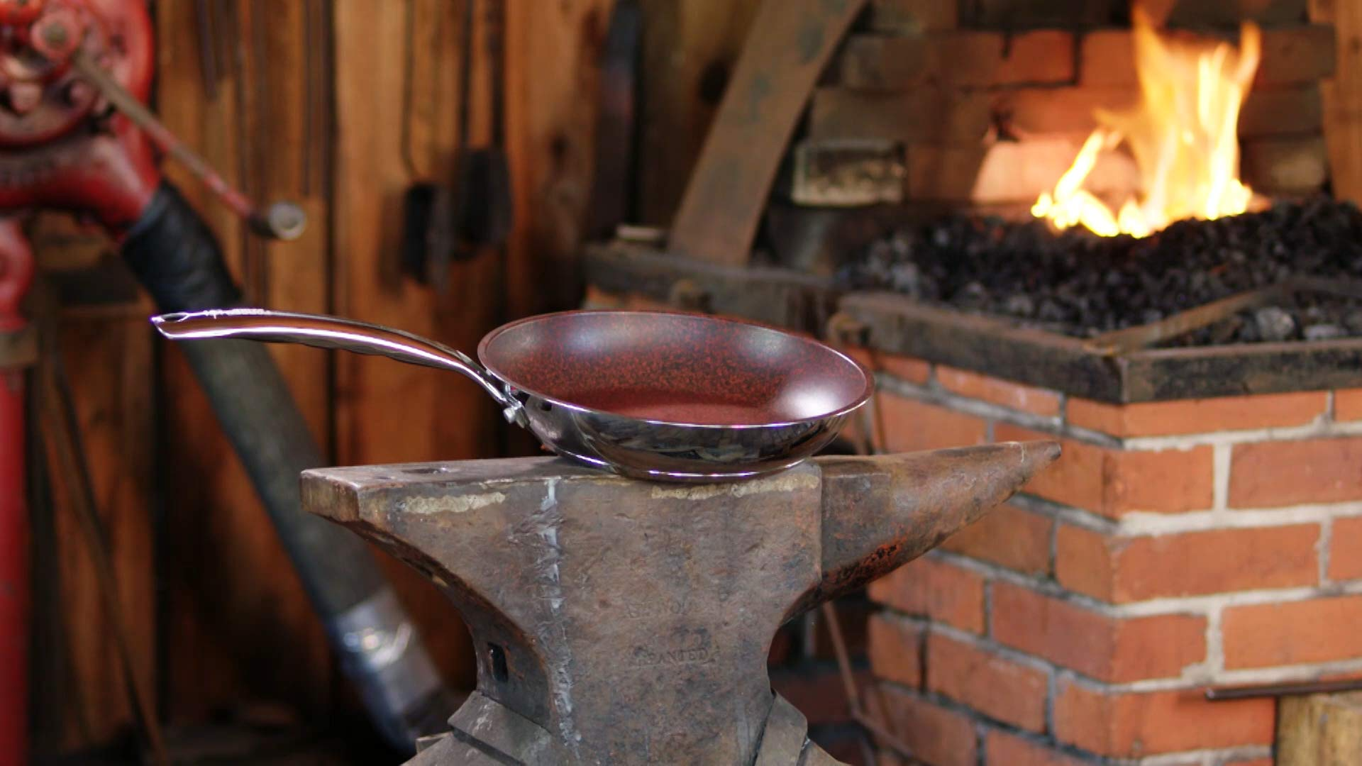 HISTORY - Forged in Fire - Stainless Steel Skillet - 11.5-Inch with 5 Layer Fire Glide Never Stick Coating by Forged in Fire (Image #6)