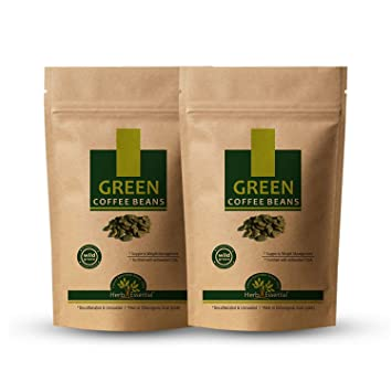 Amazon.com: Jains Green Coffee Beans Unroasted and Decaffeinated ...
