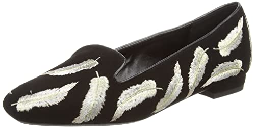 DuneGeathers - Mocasines Mujer, Color Negro, Talla 38 ...