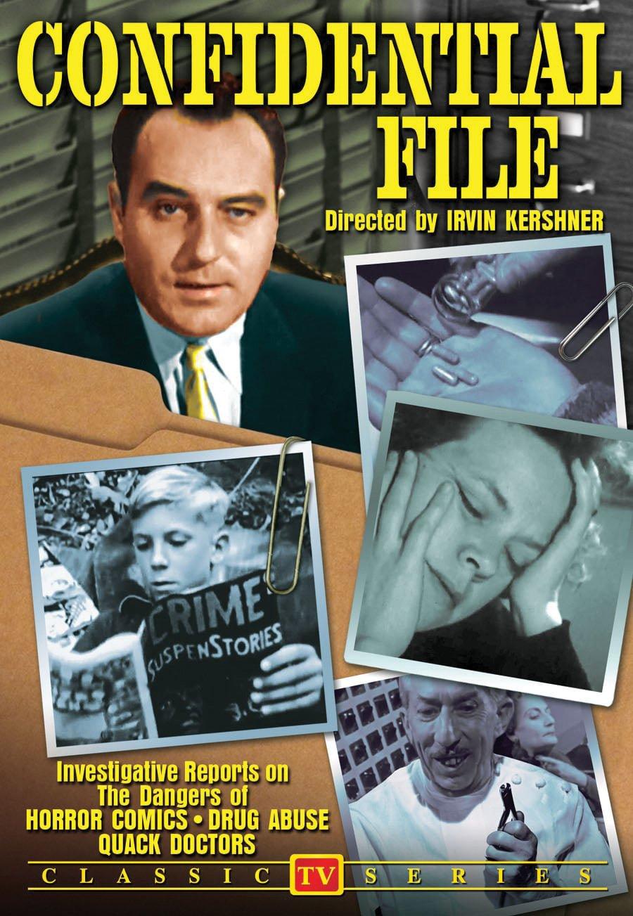 Amazon.com: Confidential File: Various, Irvin Kershner: Movies & TV