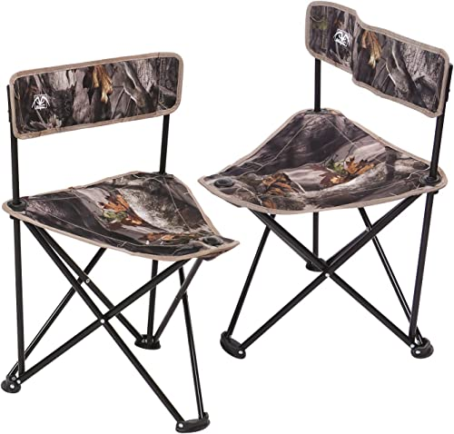REDCAMP 2-Pack Tripod Chairs Folding