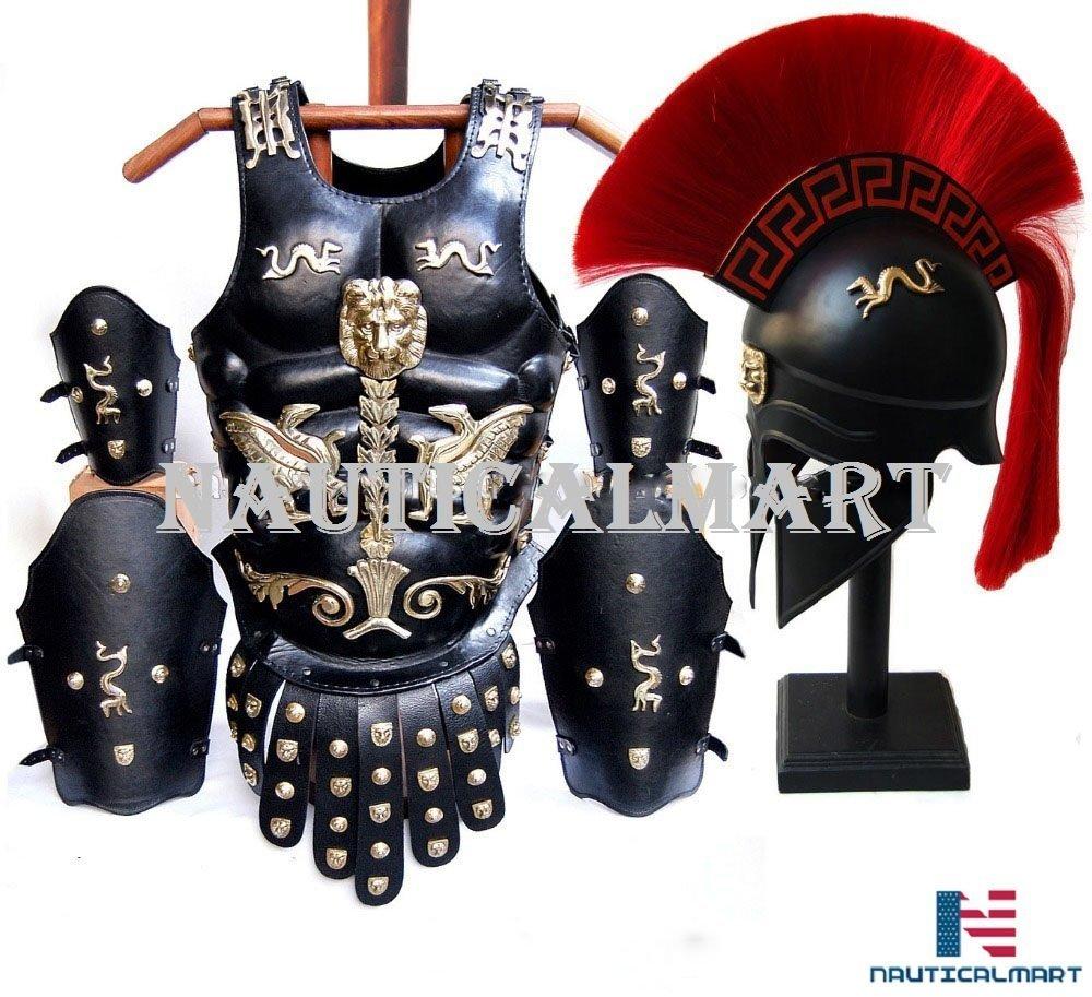 NAUTICAL MART Nautique Mart Médiéval Cuir Musculaire Armour Cuirasse Lot - Costume D'Halloween