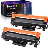 E-Z Ink (TM) Compatible Toner Cartridge for Brother TN760 TN-760 TN730 to Use with HL-L2350DW HL-L2395DW HL-L2390DW HL-L2370DW MFC-L2750DW MFC-L2710DW DCP-L2550DW (Black,2 Pack)
