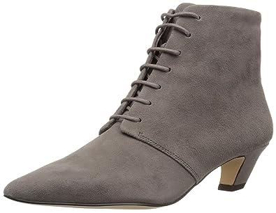 b2783f13733 Nine West Women s YENDIRA Suede Ankle Boot Grey 5 ...