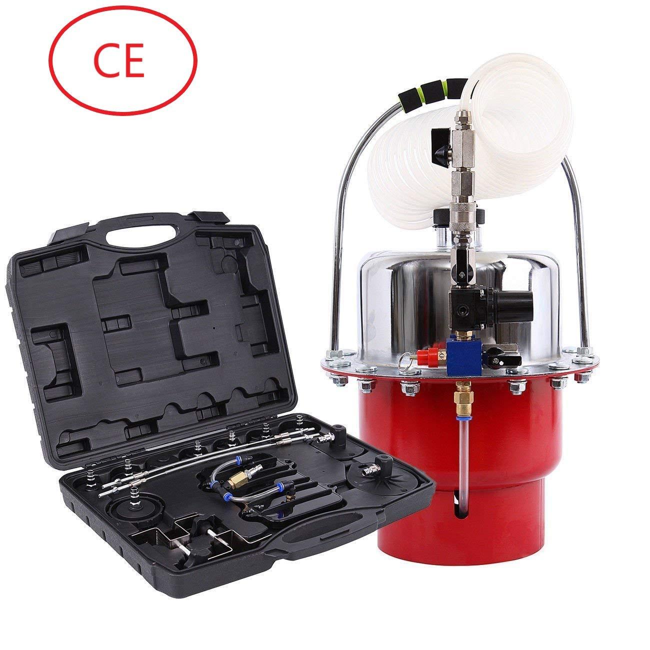 Honhill Kit di utensili per spurgo pneumatico della pressione pneumatica Kit professionale per freno di garage