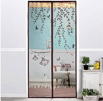 Fliegengitter Tür Insektenschutz Magnet Fliegenvorhang   Klebmontage Ohne  Bohren   Vorhang Für Balkontür Wohnzimmer Schiebetür Terrassentür
