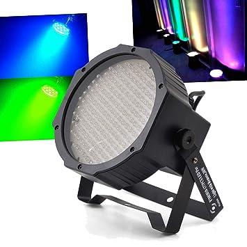 Proyector Flash de LEDs PAR 56 con 177 diodos RGB con DMX f7003000 ...