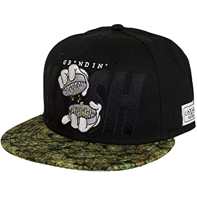 8ad0eefccfb Image Unavailable. Image not available for. Colour  Cayler   Sons Cap  Grindin Black Green