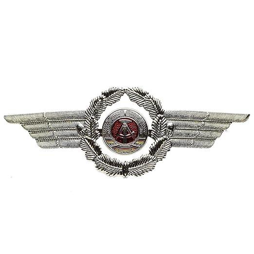 43199dcf3 Original East German GDR NVA Military Army Gold Epaulette Rank Bars,  Shoulders Pins, Hat Cockade, Cap Badge