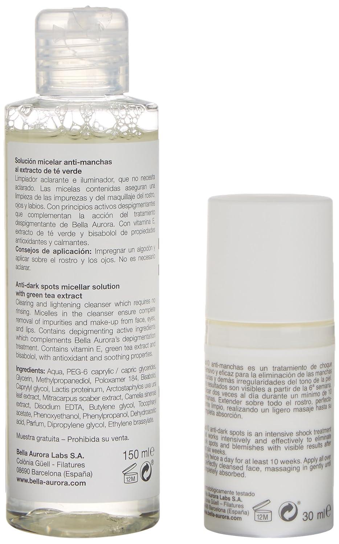 Bella Aurora Bio10 Crema Hidrantante Piel Seca + Agua Micelar - 1 Pack: Amazon.es: Belleza