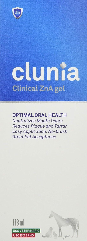 Vetnova Clunia Clinical Zn-A Gelde Higiene Dental para Perros y Gatos - 118 ml