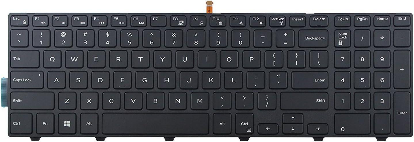 Original New for Dell Inspiron 17 5748 5749 5755 5758 Keyboard US Black Backlit