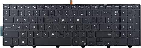 New Laptop keyboard for Dell Inspiron 15 7000 Series 15-7559 7559 US layout Black color