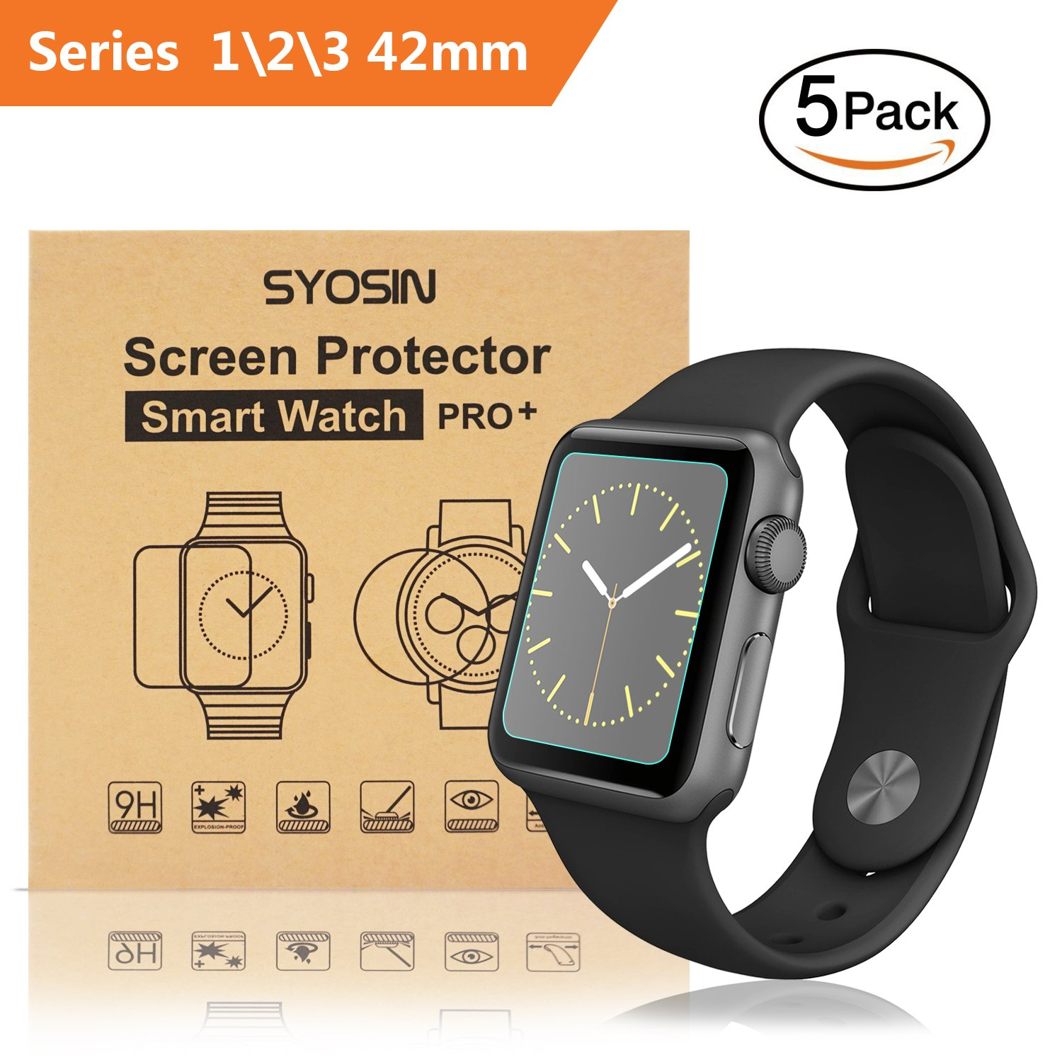 Film Protector para Apple Watch 42mm x5 SYOSIN -7RNPCL87