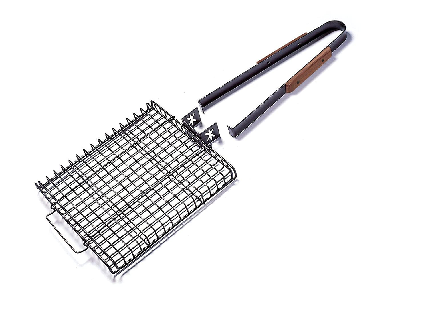 Charcoal Companion Ultimate Rectangular-Shaped Nonstick Grilling Basket CC3035