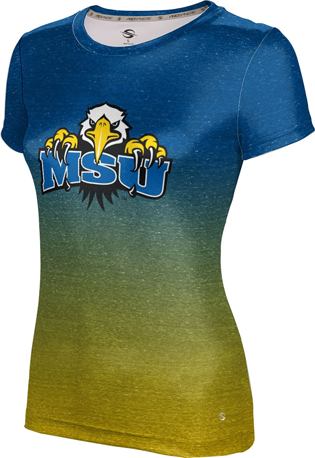 ProSphere Morehead State University Girls Performance T-Shirt Ombre