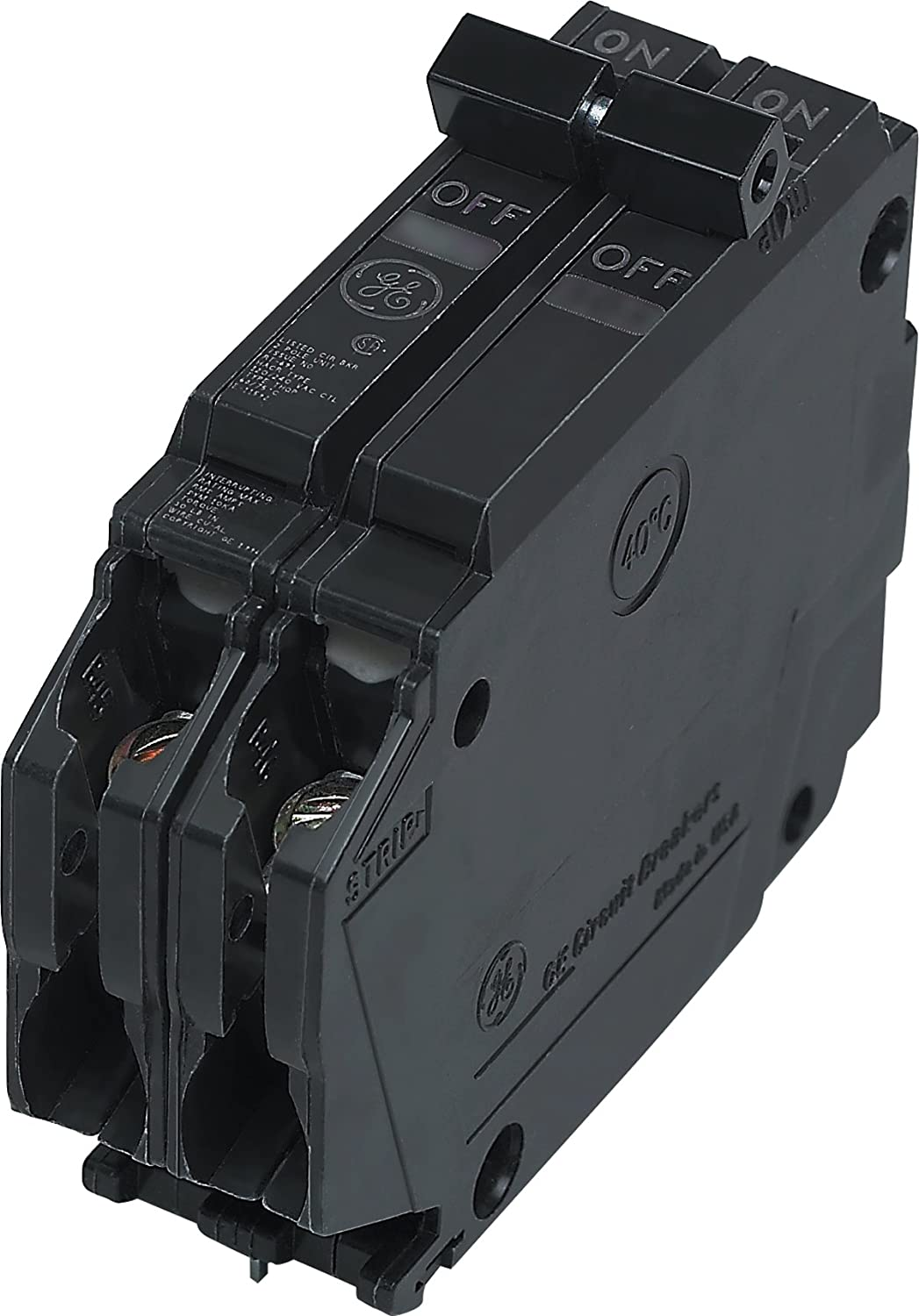 General Electric THQP245 Circuit Breaker 2-Pole 45-Amp Thin Series