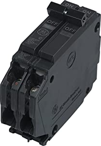 General Electric THQP225 Circuit Breaker, 2-Pole 25-Amp Thin Series