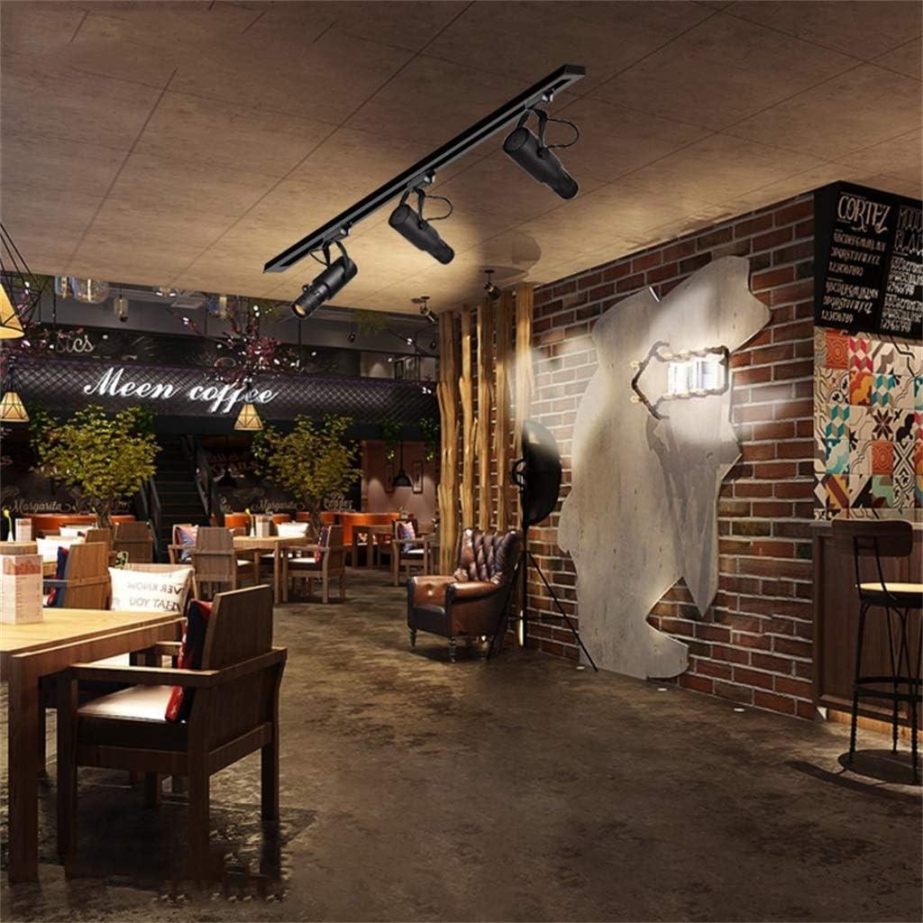Color : 12W, Size : 3000k Projection Lamp Zoom Focus Surface Track Lighting Spotlight Spotlight LED Bar Restaurant KTV Track Light