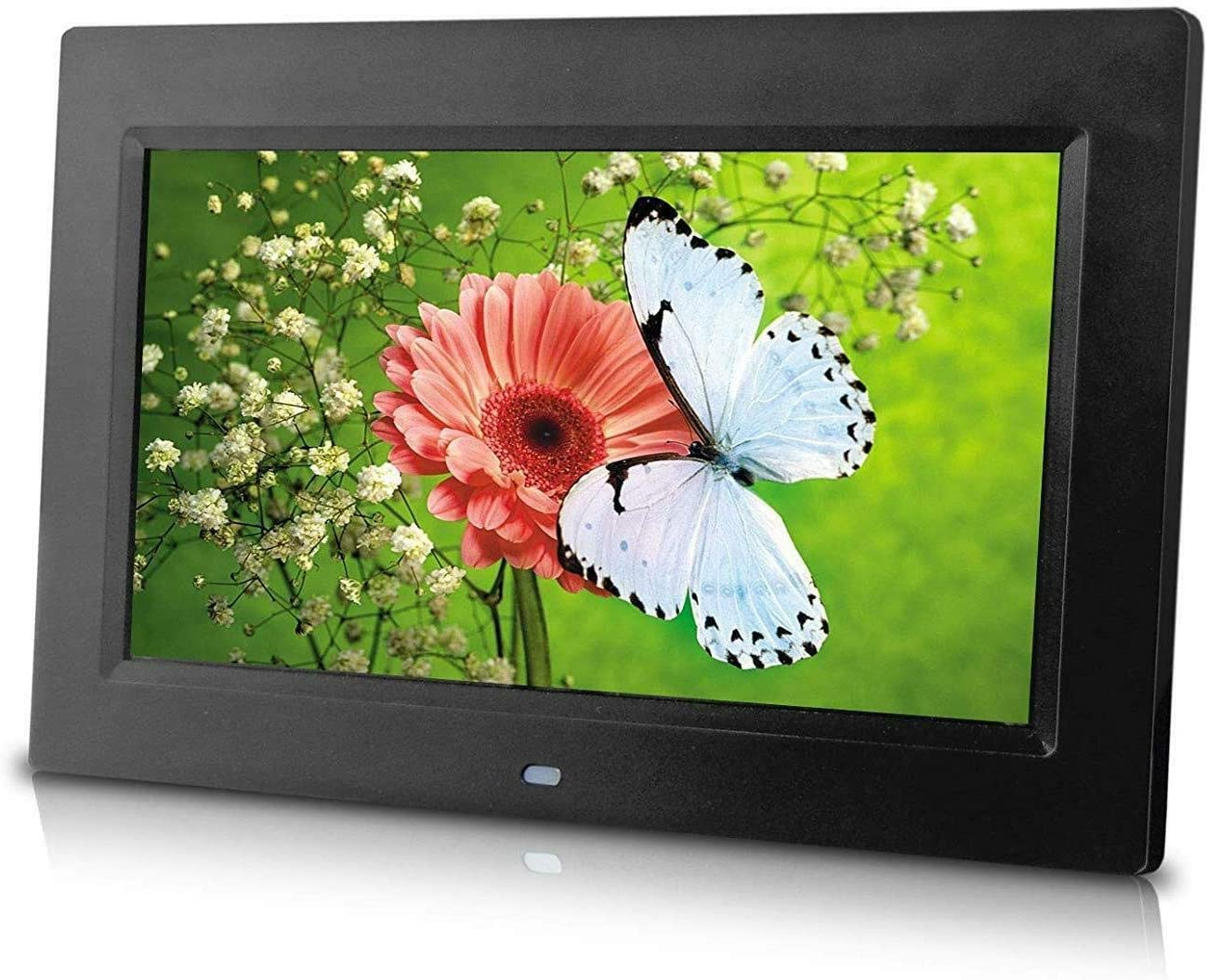 10 inch Digital Photo Frame with Remote Control, High Resolution 1024x600 Wide LCD Screen, Auto Slideshow & Adjustable Interval, Wall-mountable, Plug and Play 71q691SFEzL