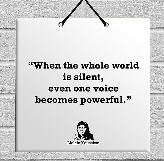 Amazoncom Body Soul N Spirit Quotes Malala Yousafzai Popular Quote