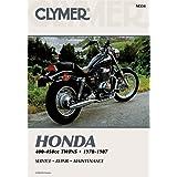 Clymer Repair Manual for Honda 400-450 Twin 78-87