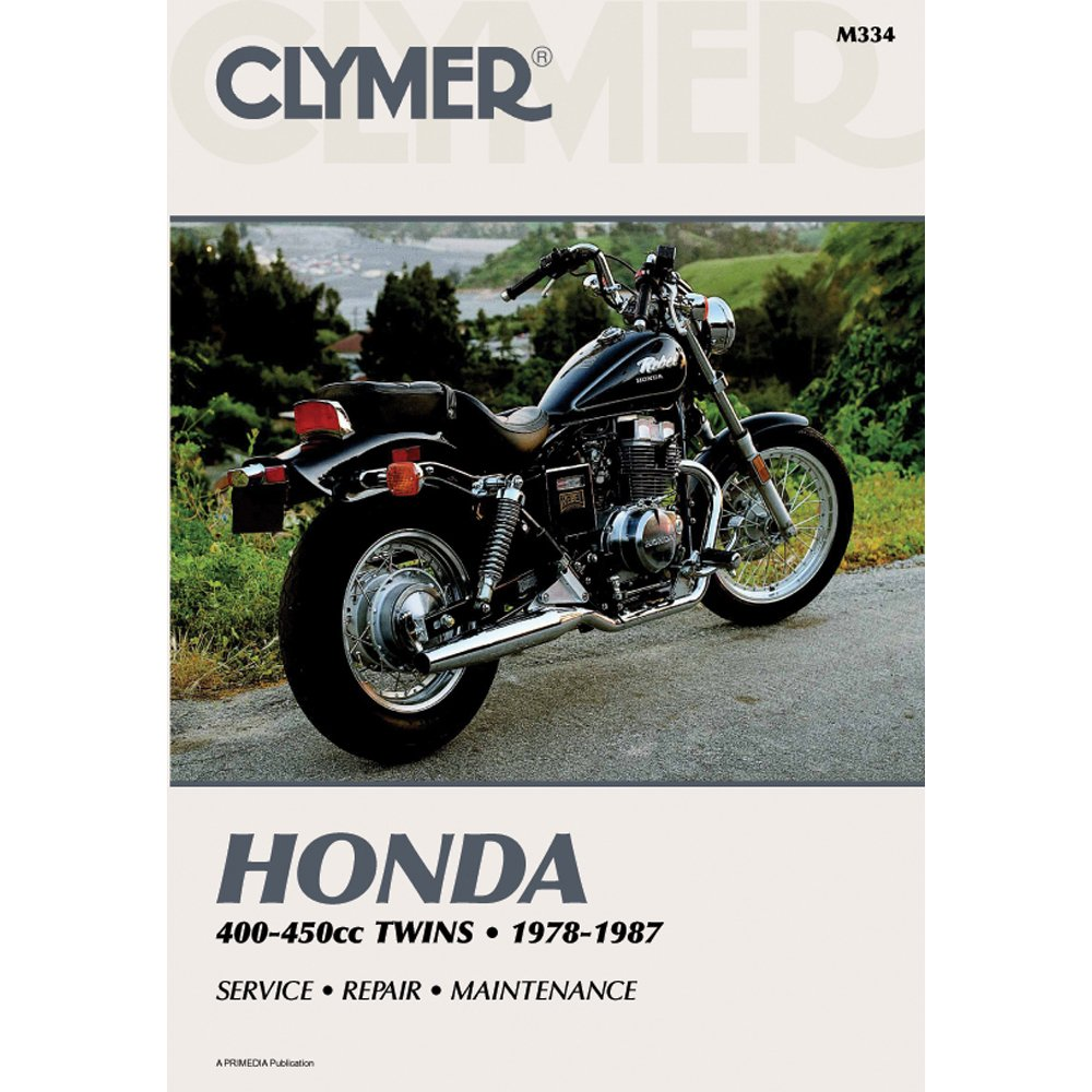 Amazon.com: Clymer Repair Manual for Honda 400-450 Twin 78-87: Automotive