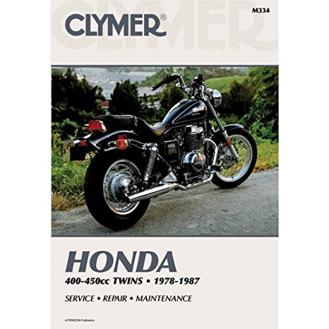 amazon com clymer repair manual for honda 400 450 twin 78 87 rh amazon com Honda CB450 Cafe Honda CB550