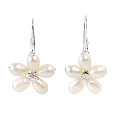 d68aa0c631 Amazon.com: Whimsical Cultured Freshwater Pearl & Fashion Crystal ...